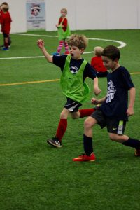 Happy Indoor Soccer Image